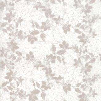 Tissu patchwork dentelle de fleurs écrues Jonatina - Stiletto de Basic Grey