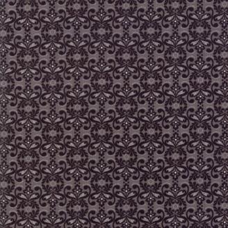 Tissu patchwork napperon noir et gris - Stiletto de Basic Grey