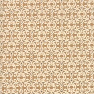 Tissu patchwork napperon beige et écru - Stiletto de Basic Grey