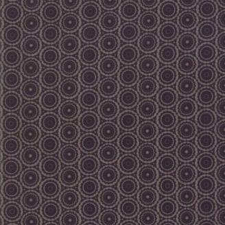 Tissu patchwork dentelle de cercles noire - Stiletto de Basic Grey