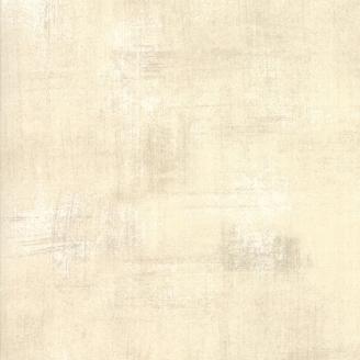 Tissu patchwork faux-uni patiné écru Naturel Stiletto - Grunge de Moda