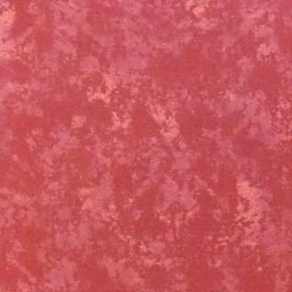 Tissu patchwork marbré terre cuite