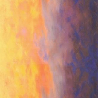 Tissu patchwork dégradé ciel d'aurore - Sky