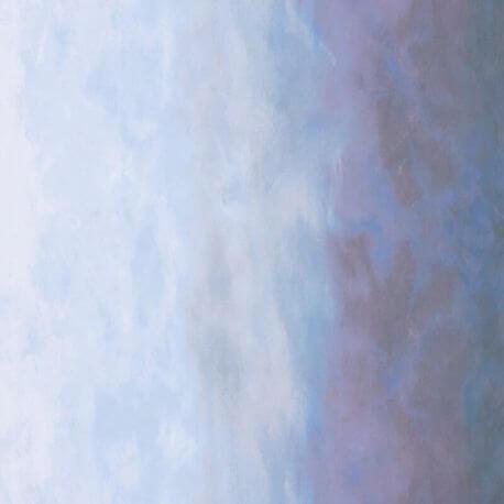 Tissu patchwork dégradé ciel embrumé - Sky