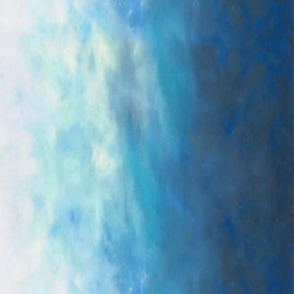 Tissu patchwork dégradé ciel d'azur - Sky