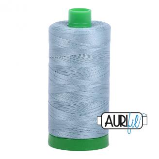 Fil Aurifil Mako 40 bleu Sugar Paper 5008