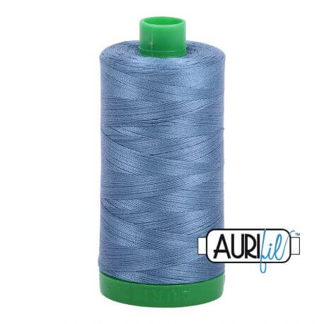 Fil Aurifil Mako 40 Bleu-Gris 1126