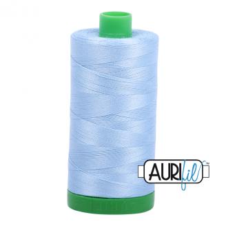 Fil Aurifil Mako 40 Bleu Charron 2715