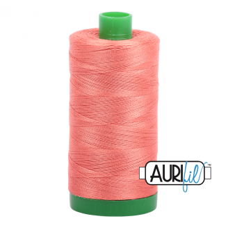 Fil Aurifil Mako 40 Orange saumon