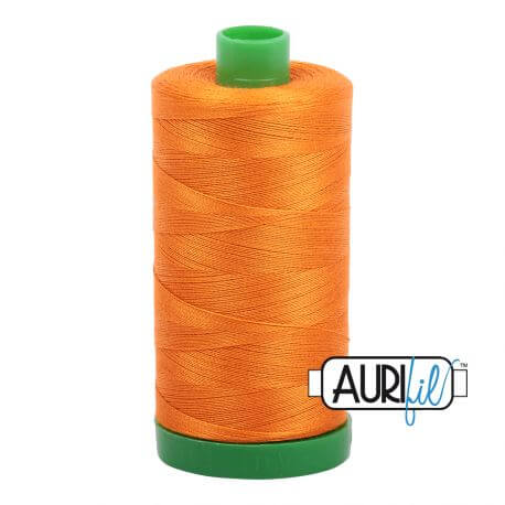 Fil Aurifil Mako 40 Orange 1133
