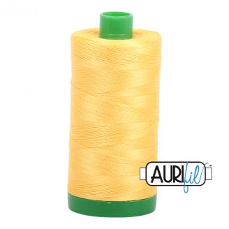 Fil Aurifil Mako 40 jaune 1135