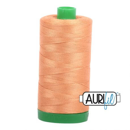 Fil Aurifil Mako 40 Orange brûlée 2210