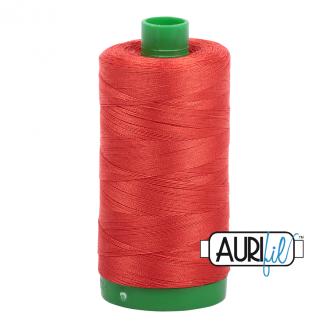 Fil Aurifil Mako 40 Rouge tomate 2245