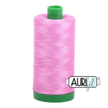 Fil Aurifil Mako 40 Rose bonbon 2479