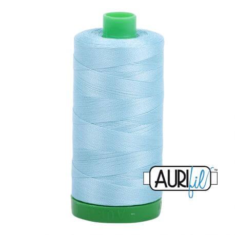 Fil Aurifil Mako 40 Bleu givré 2805