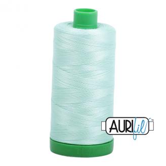 Fil Aurifil Mako 40 Vert d'eau 2830