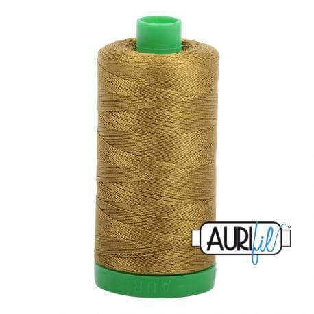 Fil Aurifil Mako 40 vert olive 2910