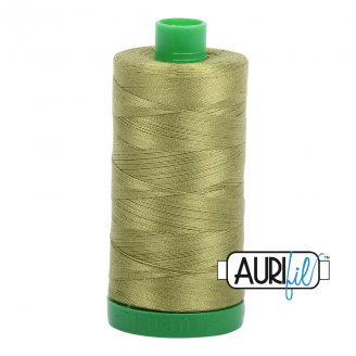 Fil Aurifil Mako 40 Vert olive 5016