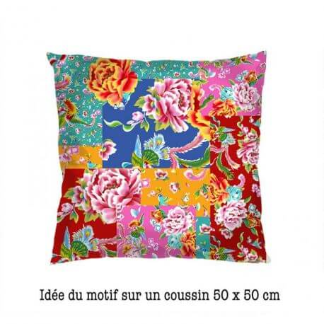 Velours Odile Bailloeul Patch Shangaï