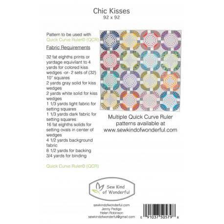 Chic Kisses - Modèle de patchwork