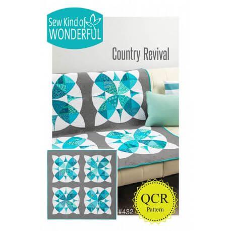 Country Revival - Modèle de patchwork