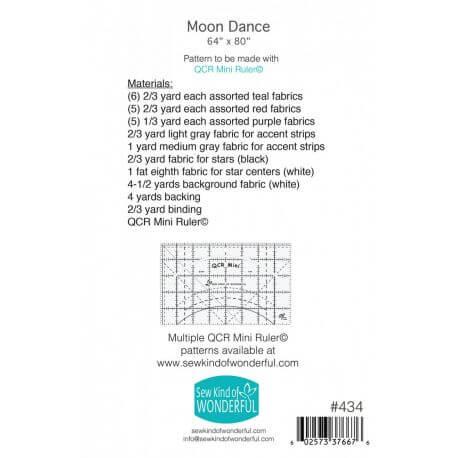 Moon Dance - Modèle de patchwork