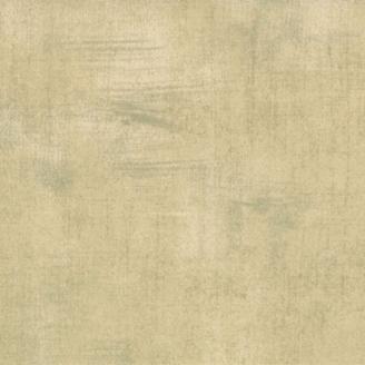Tissu patchwork faux-uni patiné beige halé - Grunge de Moda