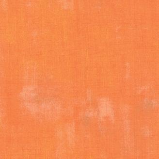 Tissu patchwork faux-uni patiné clémentine - Grunge de Moda