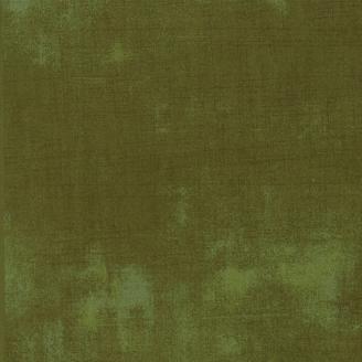 Tissu patchwork faux-uni patiné fines herbes - Grunge de Moda