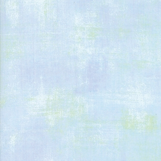 Tissu patchwork faux-uni patiné bleu cristallin - Grunge de Moda