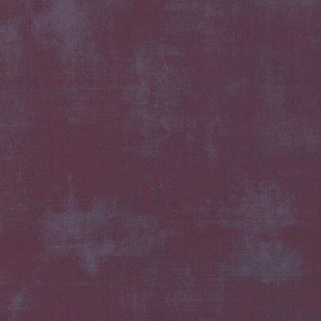 Tissu patchwork faux-uni patiné Vin - Grunge de Moda