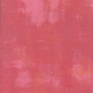 Tissu patchwork faux-uni patiné rose cendré - Grunge de Moda