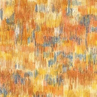 Tissu patchwork coups de pinceau ocre - Fusions Brushwork