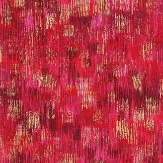 Tissu patchwork coups de pinceau fuchsia - Fusions Brushwork