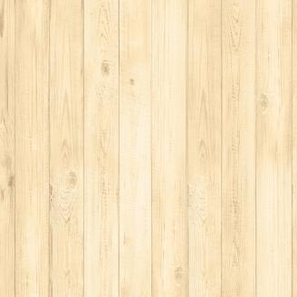 Tissu imprimé imitation planches de bois clair