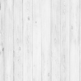 Tissu imprimé imitation planches de bois gris