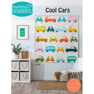 Cool cars - Modèle de patchwork