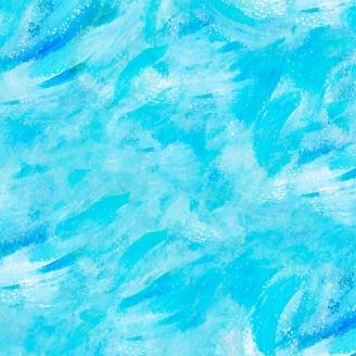 Tissu patchwork faux-uni texturé bleu turquoise
