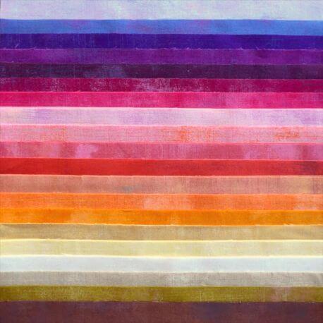Joli roll de tissus patchwork - Grunge Macarons
