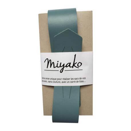 Anse de sac en cuir Miyako - Orage