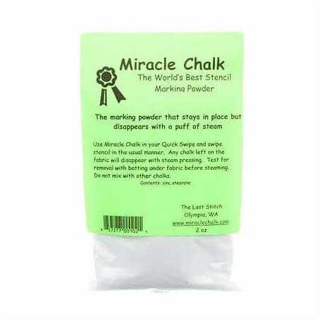 Recharge de craie blanche en poudre pour Miracle marking system