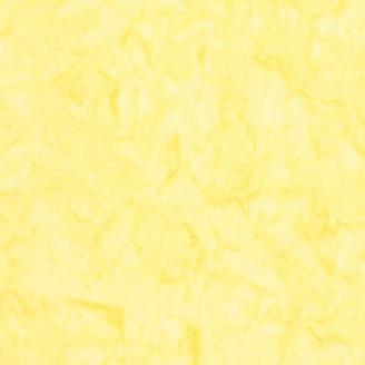 Tissu batik marbré jaune meringue