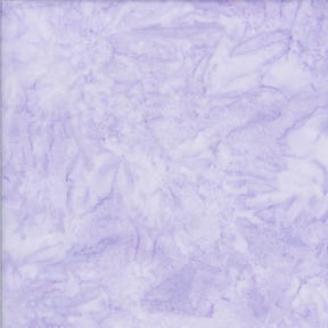 Tissu batik marbré mauve lilas