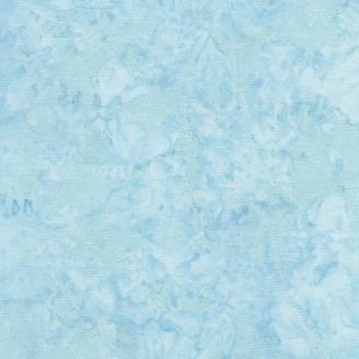 Tissu batik marbré bleu fidji