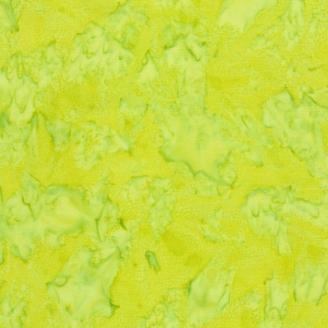 Tissu batik marbré vert énergie