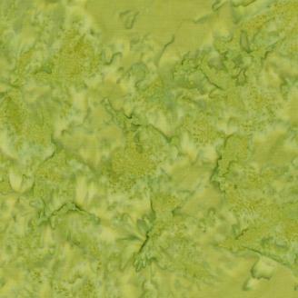 Tissu batik marbré vert serpent