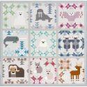 Etoiles du Nord - Modèle de patchwork d'Elizabeth Hartman (North Stars)