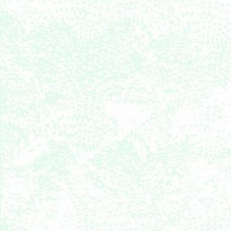Tissu batik mousse écrue ton sur ton
