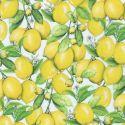 Tissu patchwork citrons dans le citronnier - Down on the farm