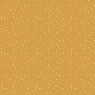 Tissu patchwork accents circonflexes jaune moutarde - Matchmade